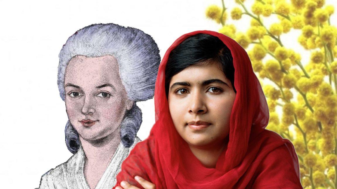 Olympe e Malala, due donne speciali per celebrare l'8 marzo