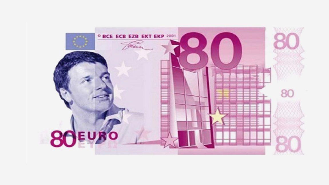 Il danno culturale (ma non solo) degli 80 euro
