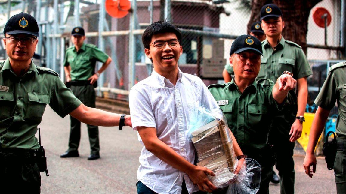 """""""Hong Kong non sarà mai una città cinese"""", parla Il leader del Movimento degli ombrelli"""