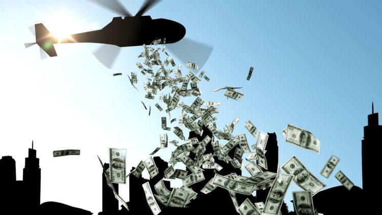 Le politiche di helicopter money che ci renderanno meno liberi e più poveri