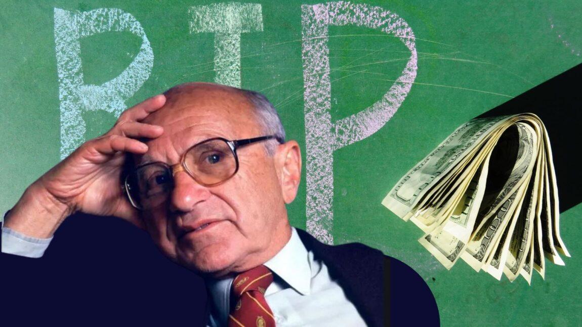 Milton Friedman: 5 motivi per dire no alla tassa di successione
